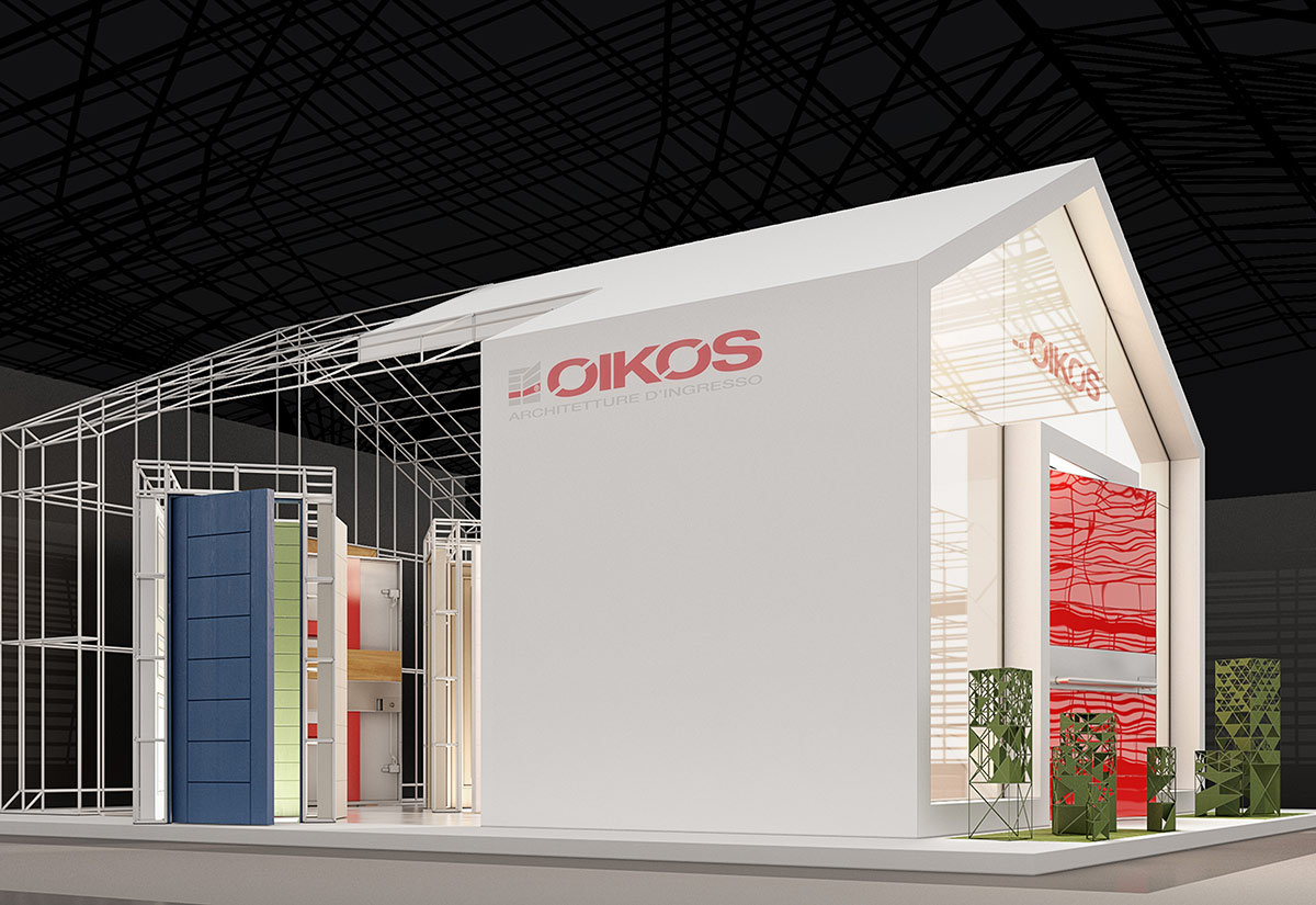 Exhibition pavilion of the Italian company OIKOS
